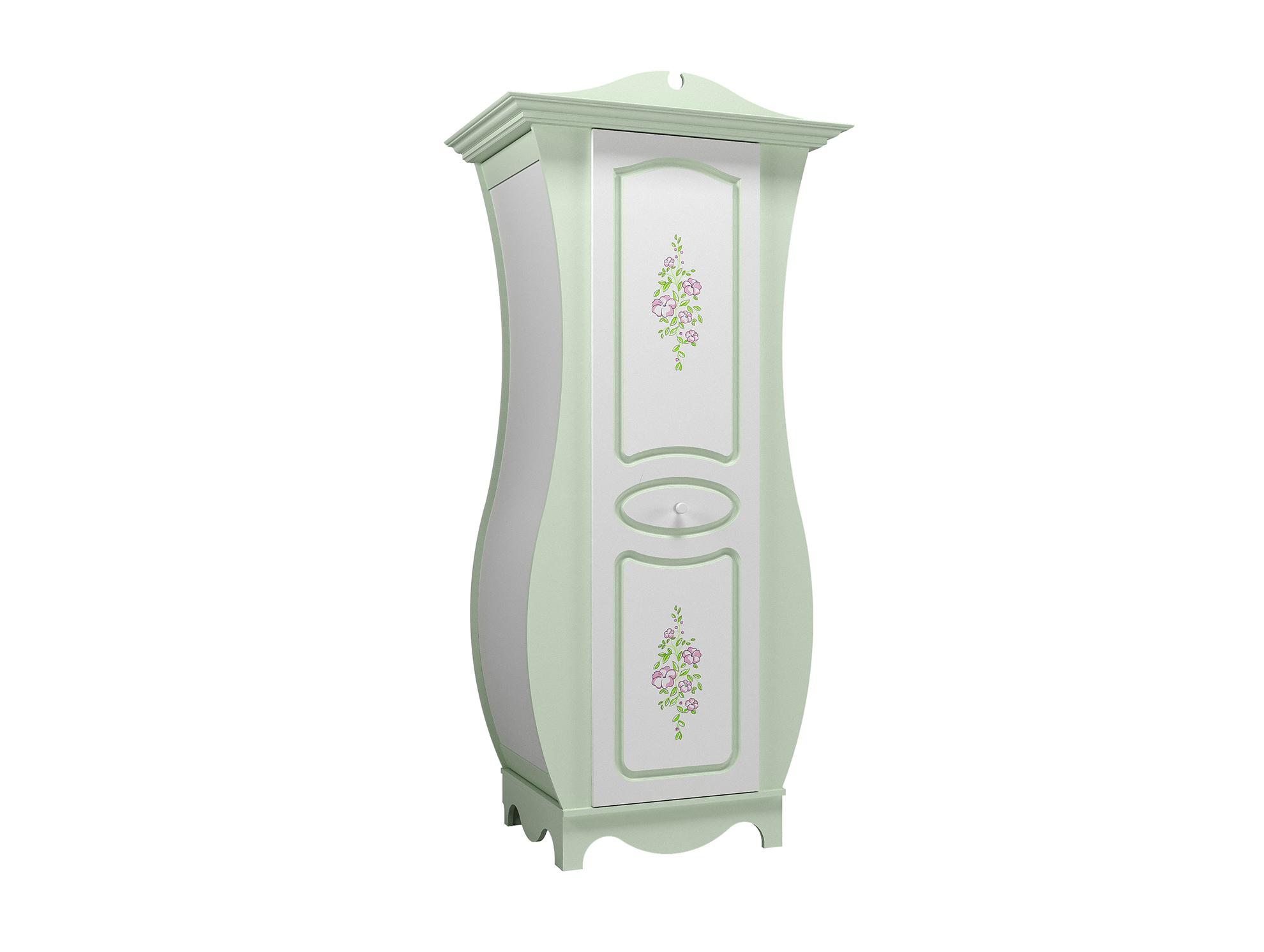 3c4400201af Набор мебели «Мирель» Эмаль Белый Фисташка   Шкаф для одежды НМ ...