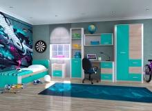 Набор мебели «Артек» ЛДСП Аква