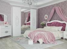 «Бланж» – двуспальная кровать сподъемным механизмом, НМ011.52