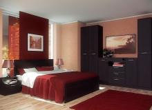 Спальня «Браво» ЛДСП Венге