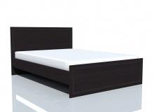 Кровать НМ 014.42-02 «Браво» ЛДСП Венге