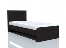 Кровать НМ 014.42 «Браво» ЛДСП Венге
