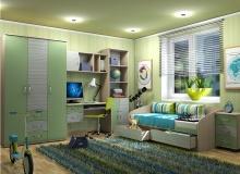 Набор мебели «Модерн» комплектация 1 ЛДСП Зеленый