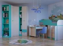 Набор мебели «Рико» ЛДСП Аква комплектация 16