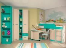 Набор мебели «Рико» ЛДСП Аква комплектация 3