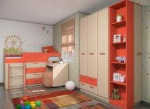 Набор мебели «Рико» ЛДСП Коралл комплектация 1