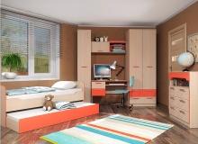Набор мебели «Рико» ЛДСП Коралл комплектация 2